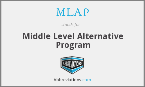 MLAP - Middle Level Alternative Program