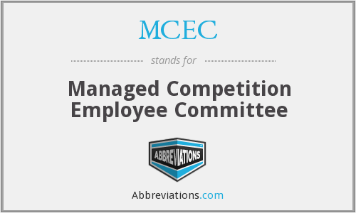 MCEC - Managed Competition Employee Committee