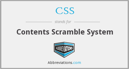 CSS - Contents Scramble System