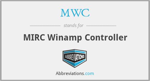 MWC - MIRC Winamp Controller