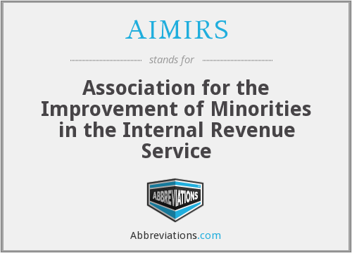 What does AIMIRS stand for?