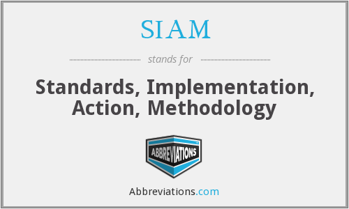 SIAM - Standards, Implementation, Action, Methodology
