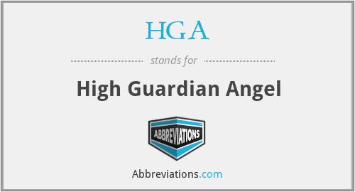 HGA - High Guardian Angel