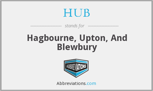 HUB - Hagbourne, Upton, And Blewbury