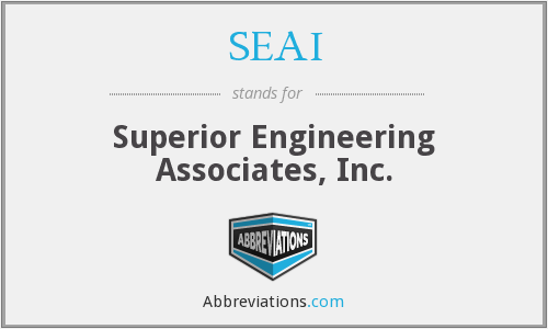 SEAI - Superior Engineering Associates, Inc.