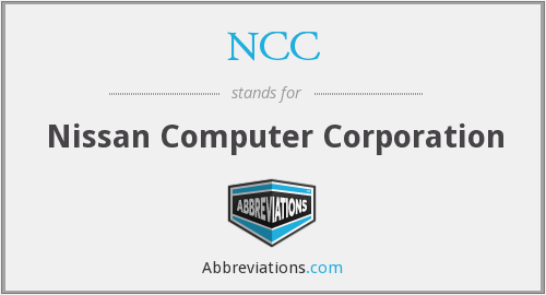 NCC - Nissan Computer Corporation