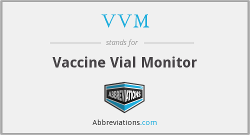 VVM - Vaccine Vial Monitor