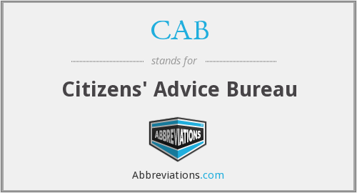 CAB - Citizens' Advice Bureau