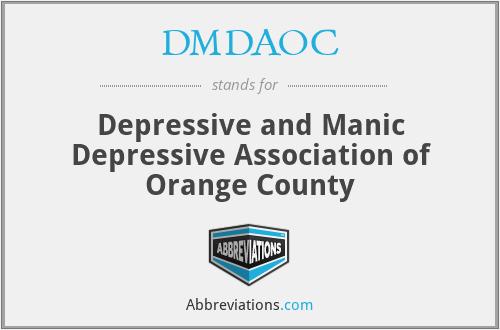 DMDAOC - Depressive and Manic Depressive Association of Orange County