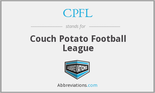 CPFL - Couch Potato Football League