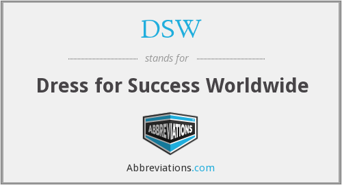 DSW - Dress for Success Worldwide
