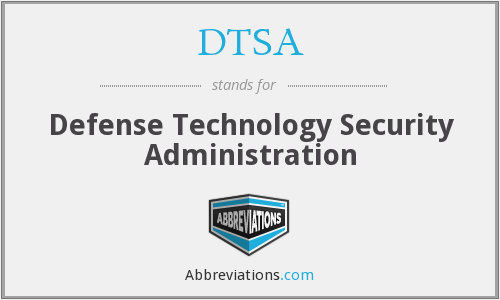 What does DTSA stand for?