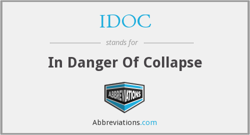 What does IDOC stand for?