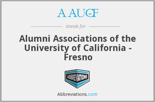 AAUC-F - Alumni Associations of the University of California - Fresno