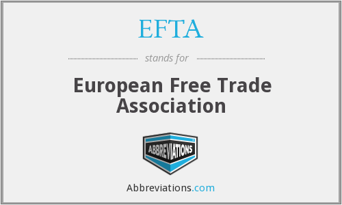 What does EFTA stand for?