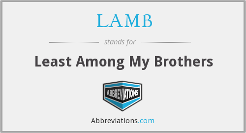 LAMB - Least Among My Brothers