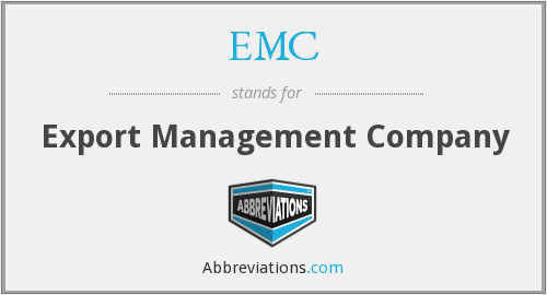 EMC - Export Management Company