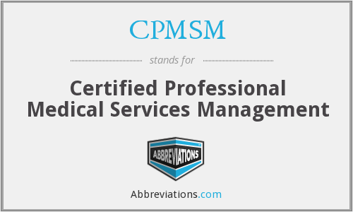What does CPMSM stand for?