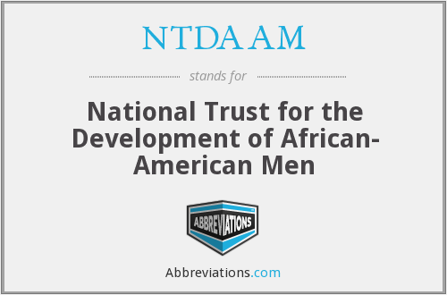What does NTDAAM stand for?