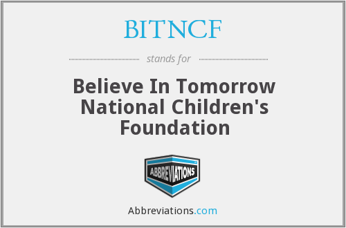 What does BITNCF stand for?