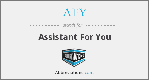 AFY - Assistant For You