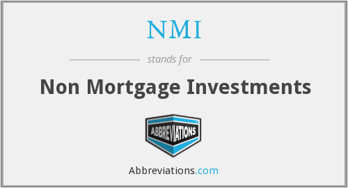 NMI - Non Mortgage Investments