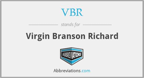 VBR - Virgin Branson Richard