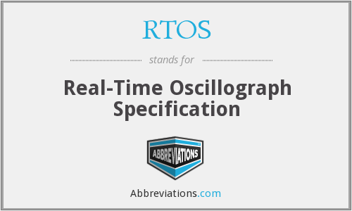 RTOS - Real-Time Oscillograph Specification