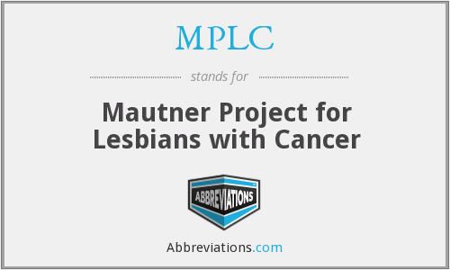 MPLC - Mautner Project for Lesbians with Cancer