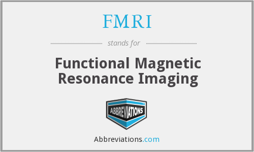 What does FMRI stand for?