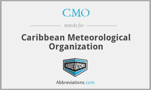 CMO - Caribbean Meteorological Organization