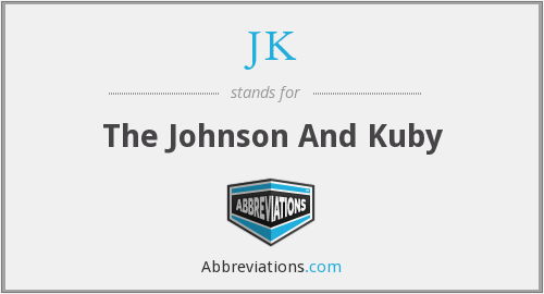 JK - The Johnson And Kuby