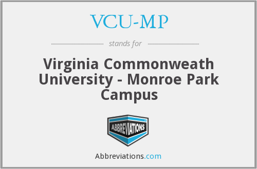 VCU-MP - Virginia Commonweath University - Monroe Park Campus