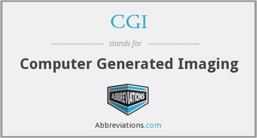 CGI - Computer Generated Imaging