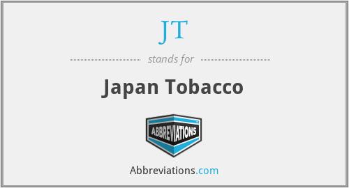 JT - Japan Tobacco