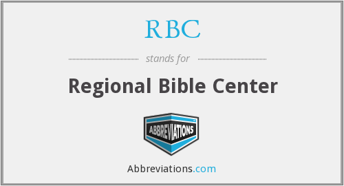 RBC - Regional Bible Center
