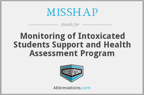 What does MISSHAP stand for?