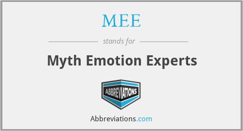 MEE - Myth Emotion Experts