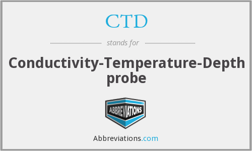 CTD - Conductivity-Temperature-Depth probe