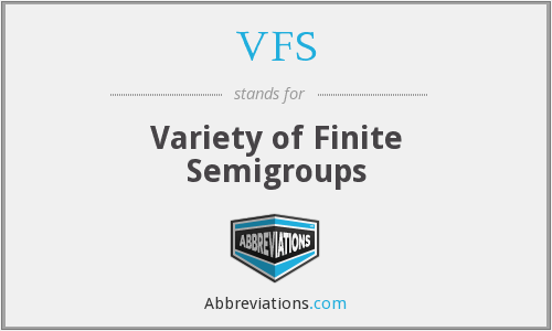 VFS - Variety of Finite Semigroups