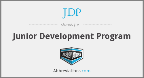 JDP - Junior Development Program