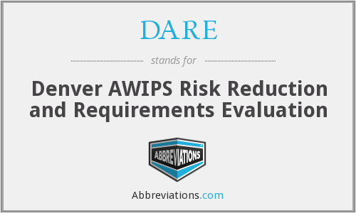 DARE - Denver AWIPS Risk Reduction and Requirements Evaluation