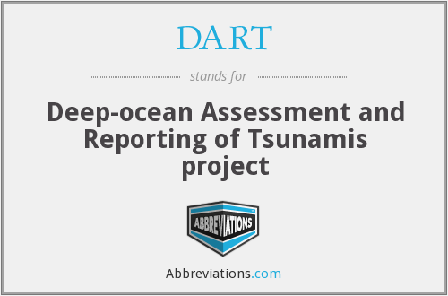DART - Deep-ocean Assessment and Reporting of Tsunamis project
