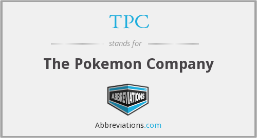 TPC - The Pokemon Company