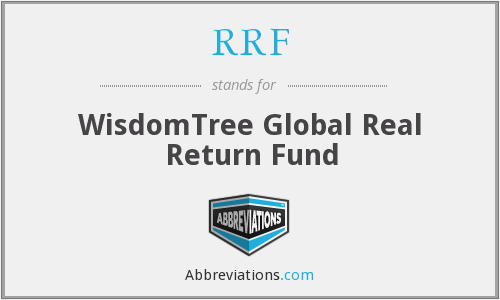 RRF - WisdomTree Global Real Return Fund