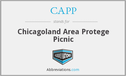 CAPP - Chicagoland Area Protege Picnic