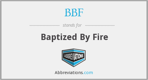 What does baptized stand for?
