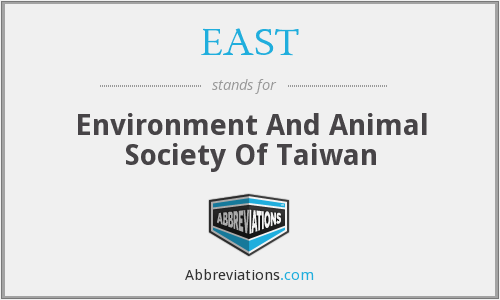 EAST - Environment And Animal Society Of Taiwan