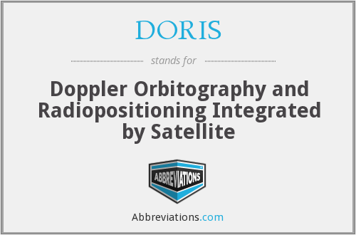 DORIS - Doppler Orbitography and Radiopositioning Integrated by Satellite
