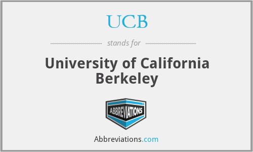 UCB - University of California Berkeley